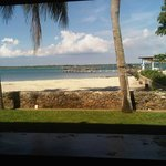 in the afternoon beach view from kilauan bar