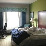 HIE Room, May 2013 -- Sorry about the unmade bed!