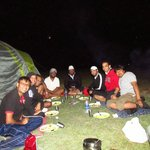 Camping Site - Group Dinner