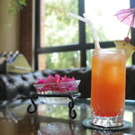 Enjoy mock-tails at Waterhole bar