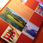 A colourful informative book to help you pick out the restaurants while staying at Whistler