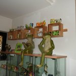 Part of the Frog museum.