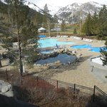  the pool and the ivce rink in winter