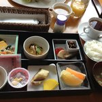 Sumptuous Japanese Set Breakfast