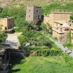 The Kasbah's Tower and small garden