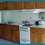 Kitchen in each unit