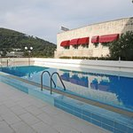 Hotel Kompas swimming pool Dubrovnik.