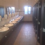 Larger toilet block