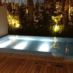 Plunge Pool Night