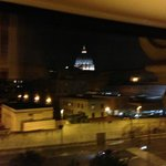 Vatican at night from VOR room window