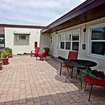 Enjoy the Florida sunshine on the patio or courtyard