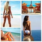 Watch the ocean or the eye candy ~ either way, you will enjoy  ;o)