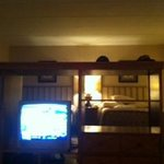View of room from couch