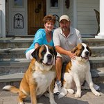 Daisy and McDuff, Our Saint Bernards