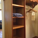 closet - enough to store our clothes in