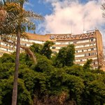 Crowne Plaza Harare taken from the park. HDR picture.