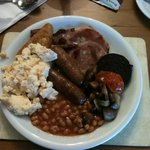 A proper hearty full English!!