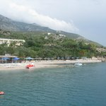 Hotel Pappas, the beach