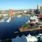 View of Inner Harbor from Room 2717