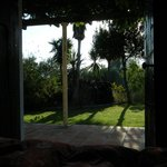 View from the bed in El Jardin room