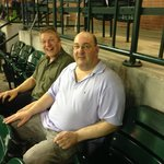 Simon and Rene at Minute Maid Park