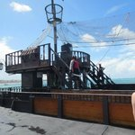 Pirate ship!  Fantastic time!!!