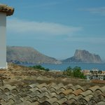 Seaview & view of the pinon of Ifach (Calpe)