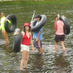 "River Tubing ""Great Fun"""