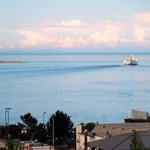 Black Ball Ferry leaving Port Angeles WA
