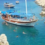 Kas Daily Boat Tours with Bermuda