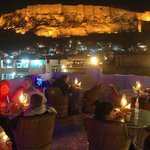  Beautiful Restaurant with 360 degree view of jodhpur