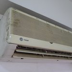 A/C unit in our room at BSA Tower
