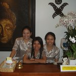 Our staff waiting to welcome you with that famous Thai smile.