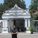 me at kraton entrance