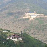View of Buddha Point from Thimpu Punakha Highway
