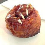 The famous sticky bun!