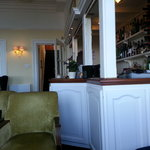 The bar area