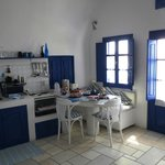 Paride Villa kitchen