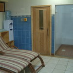 Relax in our beautiful sauna/steam bath