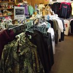 Algonquin clothing for purchase in store