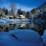Blausee im Winter