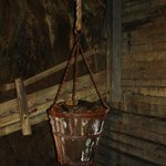Bucket used for hauling stuff up