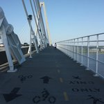 Pedestrian Walkway on Ravenel Bridge