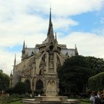 "Notre Dame from the ""quiet side"""