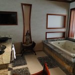 bathroom in tabacon suite