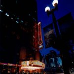Oriental Theatre at night