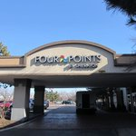 Four Points entrance