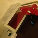 Battery came loose in safe box. The hotel staff could simply got the cheek to tell me that its o