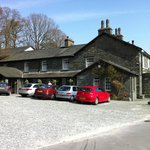 The Three Shires Inn - Side View & Car Park