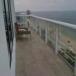 Other part of my wraparound balcony facing the ocean (2217)